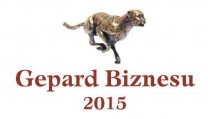 Logo promocyjne Gepard Biznesu 2015